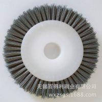 专业生产 各种磨料刷  磨料丝圆盘毛刷 碳化硅磨料丝 厂家直销