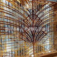 专业酒店定制 北京宴会客厅隔断屏风 装饰不锈钢屏风