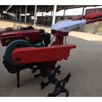 小型手推款犁地机 多功能手扶松土旋耕机