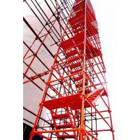 信誉好的安全爬梯厂家 通达爬梯 组合式安全爬梯 安全梯笼爬梯