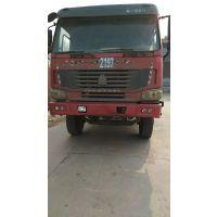 山西忻州鸿运二手车供应多台14年欧曼后八轮自卸车 336马力 5.8米货箱