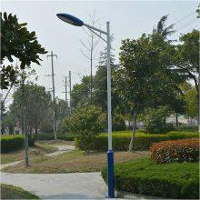 LED路灯新农村户外道路小区路灯杆3米4米5米6米双头臂高杆庭院灯
