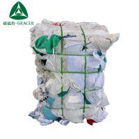 工厂现货批发化纤涤纶擦机布白吸水吸油纯棉工业抹布劳保碎布废布