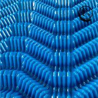 广东S波冷却塔填料S波冷却塔填料安装电厂蓝色PVC填料——河北龙轩