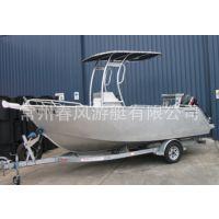 户外私人海钓船铝合金设计,春风钓鱼艇厂家价位合宜