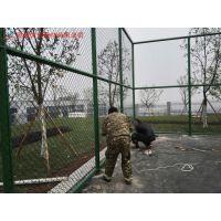 湖南运动场专用浸塑围网批发厂家 长沙体育围网安装施工方案