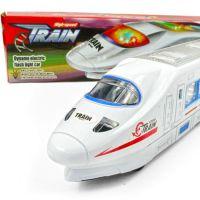 2449 万向电动闪光高速仿真列车和谐号CRH高铁火车 模型玩具 362