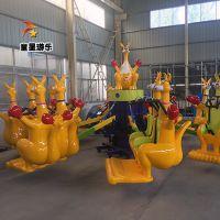 庙会赚钱神器欢乐袋鼠跳童星儿童游乐设备厂家火热上市