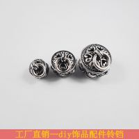 DIY饰品配件 铃铛手链脚链吊坠挂件 电镀古银小挂饰