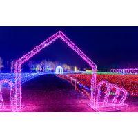 灯光展出售专业定制厂家LED灯光造型制作