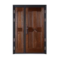 烟台别墅洋房住宅意式钢木装甲门