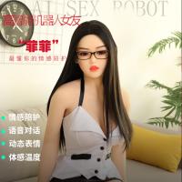 高级人工智能仿真机器人女友:与充气娃娃硅胶实体娃娃不一样哦!
