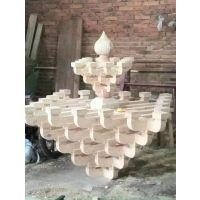 实木斗拱厂家_仿古古建实木斗拱样式_斗拱制造与生产