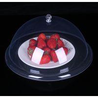盖菜罩亚克力大号圆形家用餐桌罩防苍蝇桌盖透明食物饭菜罩子防尘