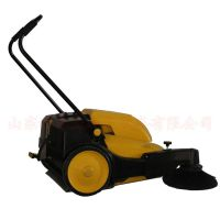 小型扫地机 无线电瓶式扫树叶草屑尘土扫路车 手推式电动扫地车
