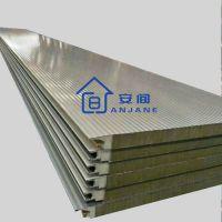 1000型横装墙面夹芯板 供应浙江地区防火聚氨酯封边岩棉夹芯板
