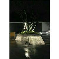 房地产售楼部透光景观树池 水泥透光景观项目