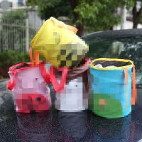 车载垃圾袋挂式汽车垃圾桶车内卡通垃圾桶袋车用收纳袋挂式用品