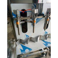 半自动直线灌装机桶装酒灌装机玻璃水防冻液灌装机