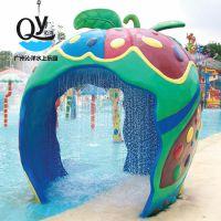 广州沁洋水上乐园设备儿童游乐专业供应戏水小品苹果屋
