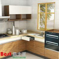 厂家生产 韩式简约双饰面橱柜 家用厨房橱柜