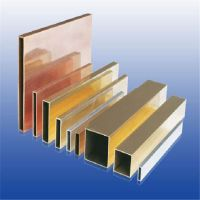 厂家直销黄铜扁管 50*50*2.0大规格黄铜方管
