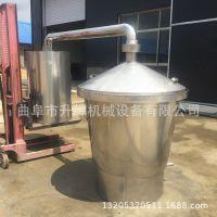 家庭蒸酒机一套酿酒设备价格  304不锈钢煮酒锅 卫生耐用