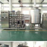 15T/H 二级反渗透水处理系统装置,15T/H反渗透纯水系统设计
