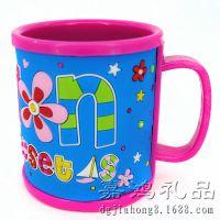 批发塑料立体卡通杯子 广告促销礼品水杯 实力工厂