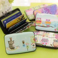 0097韩国猫头鹰风琴卡包超薄可爱多卡位卡片包公交银行卡包批发