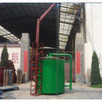 定制新型气流吊装炭化炉 方形/圆形节能多连体炭化窑 烟气回收可燃设备