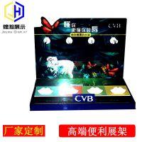 气垫cc霜展示台CVB品牌展示台亚克力材质制作深圳工厂定制展台