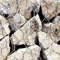 环标铅丝石笼网-铅丝格宾网-护岸铅丝石笼-铅丝石笼网护坡