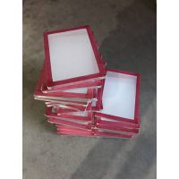 供应丝网印刷机用网框 绷网铝合金网框+网纱 制版厂家