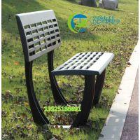 公园户外椅 长条铸铝椅 阳台座椅长