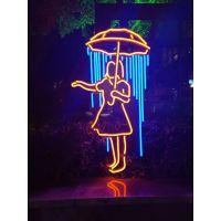 丽雨LED标识标牌发光字人物造型