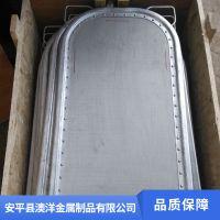浙江金属毛油精炼过滤网板生产基地