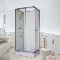 长方形淋浴房整体浴室一体式家用钢化玻璃隔断洗澡间沐浴房卫生间