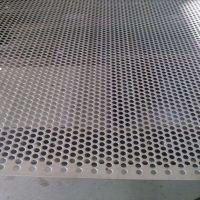 304不锈钢冲孔板厂家制造——1mm板厚圆孔钢板网1*2米一张报价
