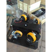 国产AGV小车TEC驱动机构一体驱动总成、单轮、双舵轮、四舵轮、对角安装、
