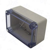 供应HF-H-2 100*68*50{mm}塑胶防水盒 透明防水盒ABS塑料壳
