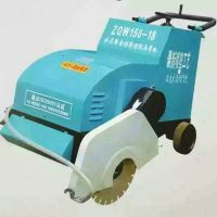 东硕机械SYKW-18混凝土切割机手推式路面电动刻纹切割一体机