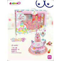 韩版简动文创儿童DIY手工制作仿真蛋糕马卡龙套装女孩过家家玩具