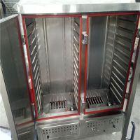 博远供应瑞金市供应电气两用蒸房一挂二蒸馒头的蒸房单门12盘 不锈钢蒸箱