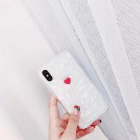 日韩迷你小爱心苹果X手机壳硅胶7p防摔全包iphone8个性6s女款软壳