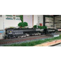 MTH火车模型80-3271-1DCC数码音效全金属反头车蒸汽机车