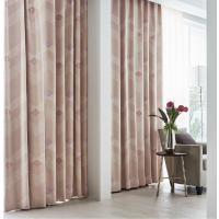 供应日本进口丽彩形状记忆窗帘印花遮光涤纶窗纱 FD-52004