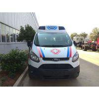 新全顺V362中轴中顶5341×2032×2407监护型救护车厂家价格