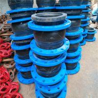专业生产 耐高温橡胶软连接 dn150可曲挠橡胶接头 丝扣软连接定制