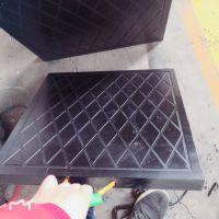 工程机械专用黑色再生500*500*50起重机支腿垫板 吊车支腿垫板规格齐全